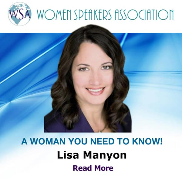 Lisa Manyon Is A WSA Woman You Need To Know!
