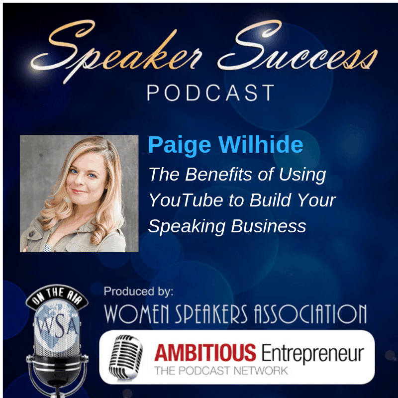The Benefits of Using YouTube to Build Your Speaking Business [Podcast]