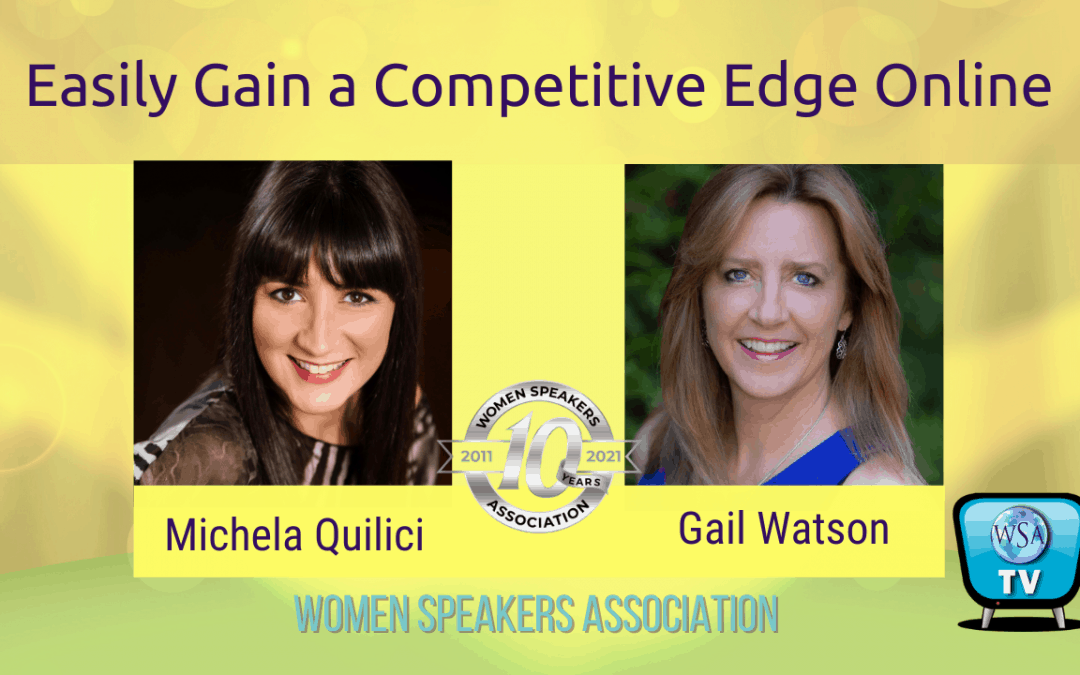 How To Gain the Competitive Edge Online as a Speaker
